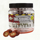 Бойлы плавающие Dynamite Baits Wafter Cork Ball  Source 15мм 30 г (Соурс)